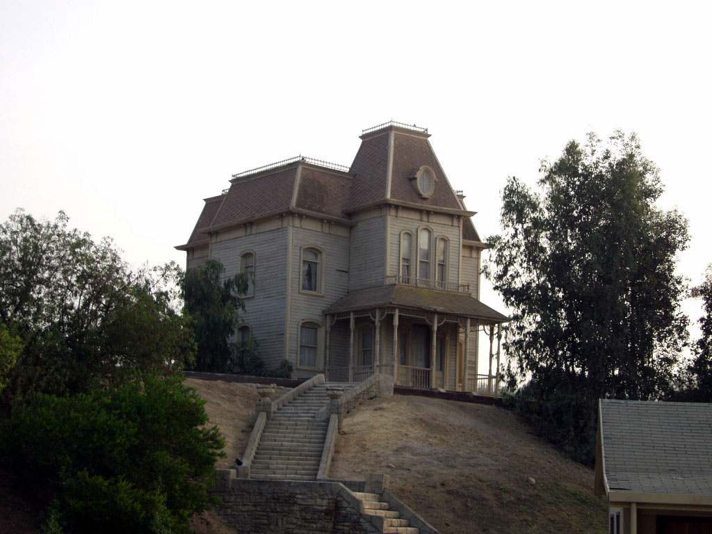 Bates House in Psycho
