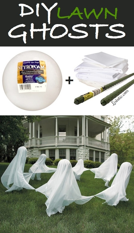 diy-lawn-ghosts