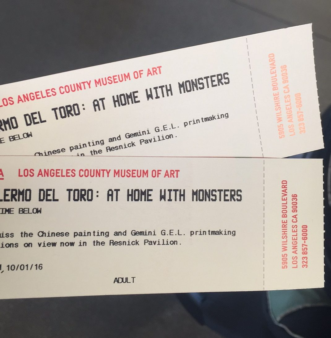 Guillermo Del Toro LACMA Exhibit
