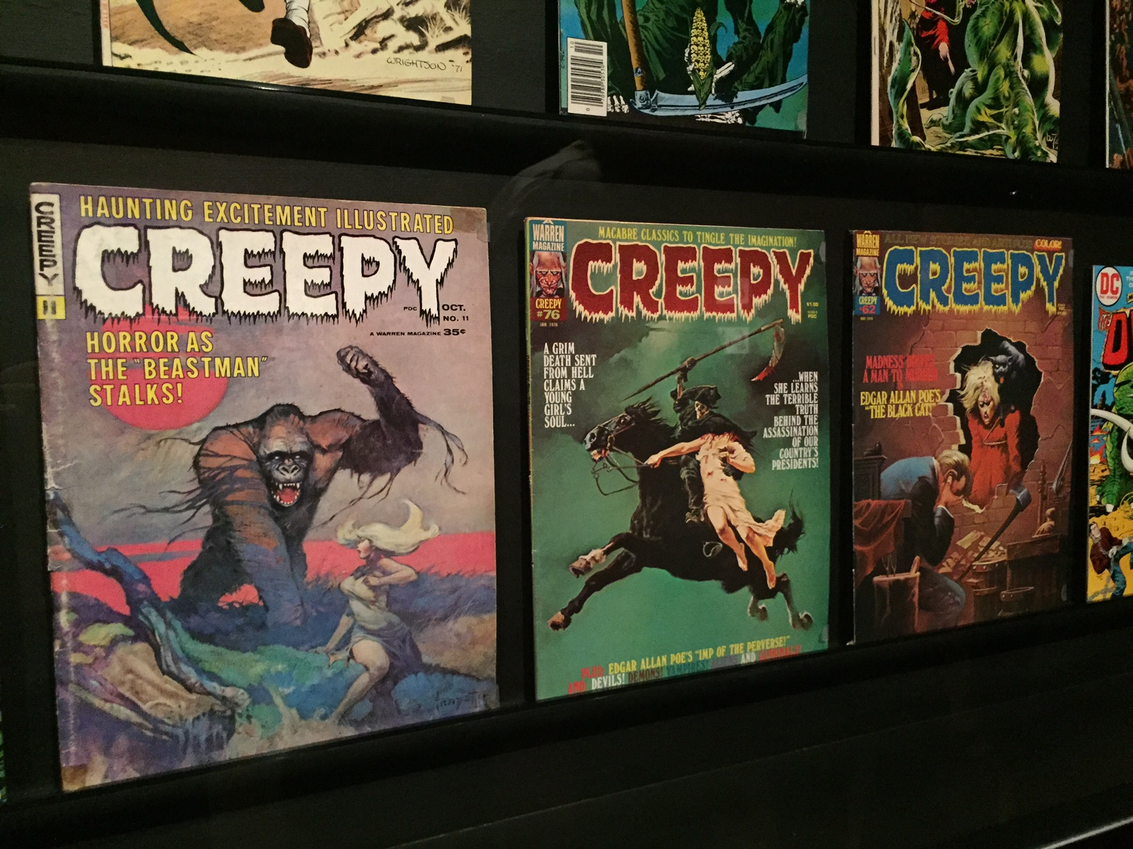 lacma creepy comics