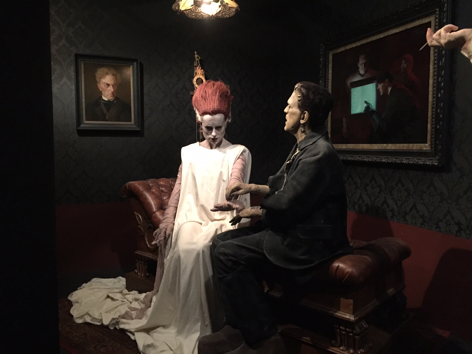 lacma del toro bride and frankenstein