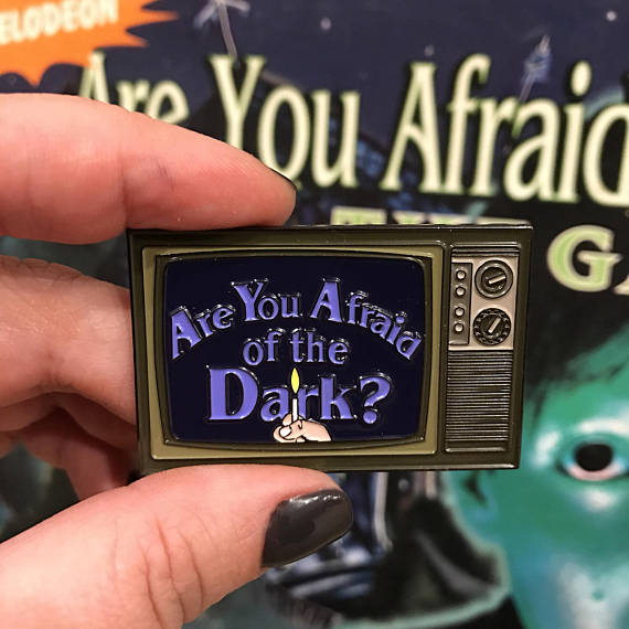Are You Afraid of the Dark Pin