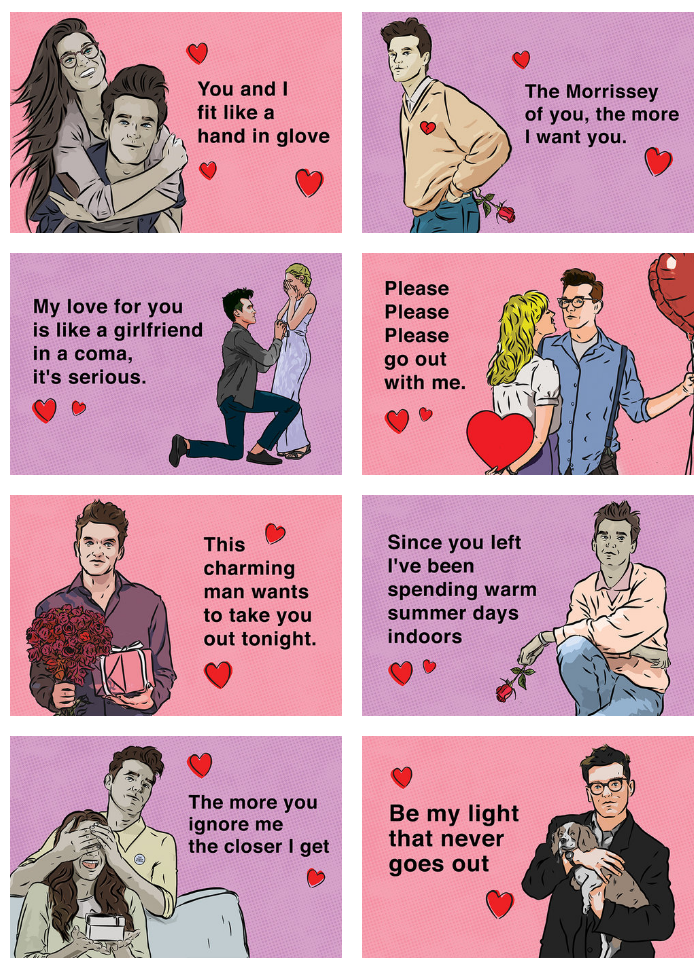 Morrissey's Cards of Love - Creepy St.
