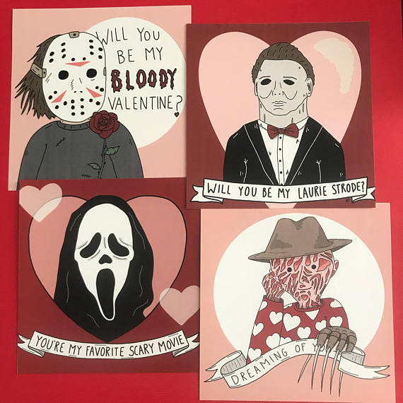 Valentine S Day Gifts For Horror Lovers